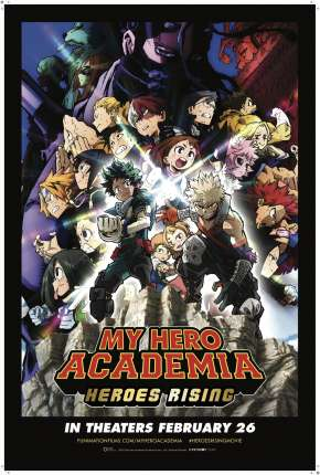 My Hero Academia: Ascensão dos Heróis - Legendado Download