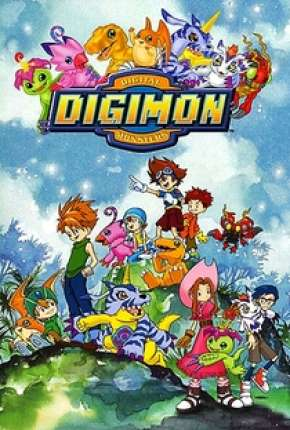 Digimon 1ª até 5ª Temporada Download