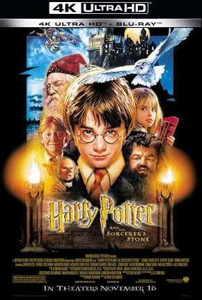 Harry Potter e a Pedra Filosofal - Versão do Cinema 4K BluRay Download